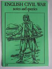 PARTIZAN - Inglés GUERRA CIVIL: Notas & consultas 37 - ledbury, 1645