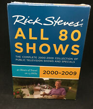Rick Steves Europe Boxed Set 2000-2009 (DVD, 2009) - 13 DVDs of travel