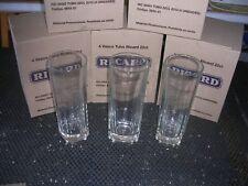 RICARD  8 verres tube 22cl gravé comme la bouteille dans leur carton d'origine