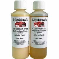 Mouldcraft SG2000 1KG Fast Cast Polyurethane Liquid Plastic Casting Resin kit