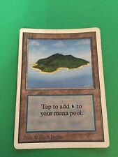 Island Unlimited EditIon MTG Magic the Gathering Vintage Card Game Cards Games