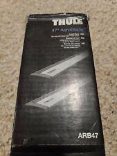 """New in Box Thule aluminium ARB47 AeroBlade 47 47"""" load bars cross bars"""