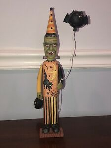 Bethany Lowe Frankenstein Figure By Greg Guedel Halloween rare Retired vintage