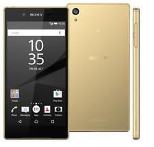 "Doré 5.5"" Sony Ericsson Xperia Z5 Premium E6853 4G Téléphone 32GB 23MP Android"