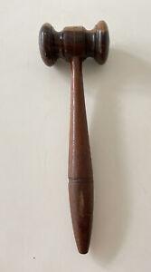 Vintage Wooden Auctioneers Gavel