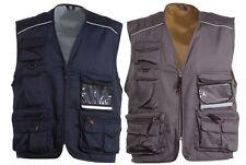 DUKE Clothing ENZO D555 da Caccia Gilet Gilet Imbottito Gilet Taglie Forti 3XL-6XL