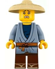 LEGO NINJAGO MOVIE MINIFIGURE PAT FEMALE WITH CONICAL ASIAN HAT 70613