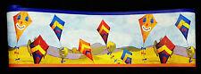 05928-10-24) Kinderzimmer Borte Papier Tapeten Bordüre farbenfrohe Drachen