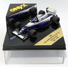 Coches de Fórmula 1 de automodelismo y aeromodelismo Williams Renault escala 1:43