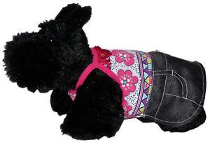 Lulu Pink SimplyShe PINK FRINGE DENIM SKIRT DRESS Rhinestone High Cut Belly
