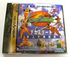 Rare : DEC ATHLETE - NEUF / NEW ! Decathlete Jeu / Game for Sega SATURN JAP NTSC