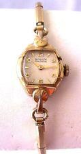 Vintage Gruen Precision 60's 17 Jewel Manual Wind Ladies Watch Gold Tone