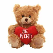 Teddy Bear with Love Heart Pillow Plush Stuffed Animals Kids Toy Girlfriend Gift