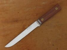FINEST Vintage ROBINSON USA Chef's Bolstered Carbon Steel/Rosewood Boning Knife