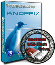 Knoppix 7.4.2 Live Linux 16GB USB  3 Bootable Startup Flash Pen Drive PLUG n' GO