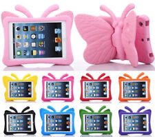For iPad Air Mini 1 2 3 4 EVA Shockproof Kids Handle Foam Case Stand Butterfly