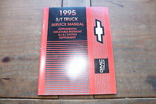 S/T Truck Air Bag (SIR SYSTEM) Supp GMT95STSIR 1995 GM Shop Service Manual