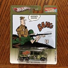GMC Motorhome - Beetle Bailey Cartoon - Hot Wheels Pop Culture (2013)