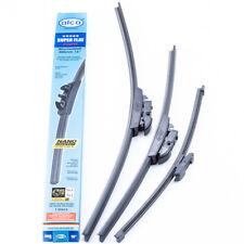 "Seat Leon 2009-2012 alca GERMANY window wipers FULL SET 26""26""11V"""