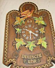 "New ListingVintage General Electric Faux Cuckoo German Clock ""Deutsche Uhr"""