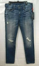 TRUE RELIGION mens medium wash Rocco Relxed Skinny jeans size W34 NWT