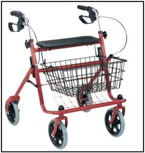 4 Wheeled Shopper- Walker With Basket