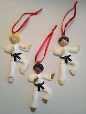 Personalized Karate Boy / Girl Christmas Ornament