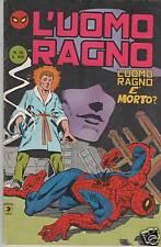 L'UOMO RAGNO seconda II 2a SERIE CORNO N. 25 L'UOMO RAGNO E' MORTO ? hulk x-men