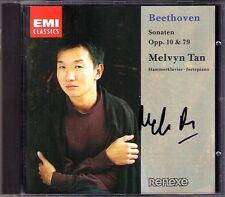 Melvyn TAN Signiert BEETHOVEN Piano Sonata Op.10 No.1-3 Op.79 CD 5 6 7 25 陈万荣