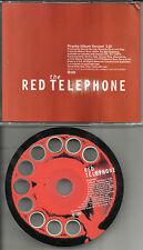 Red Telephone ACTUAL SHAPED ROTARY PHONE PROMO Radio DJ CD Single Piranha 1998