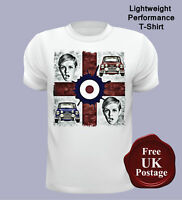 George Cross T Shirt, Mini Cooper T Shirt, Mod T Shirt, Target, Twiggy,