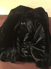 Vintage Monterey Fashion Fluffy Faux Fur Women's Coat Size L Thick Cozy Jacket