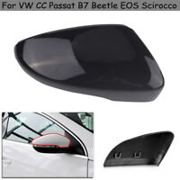 1PC Right Wing Mirror Cover Casing For VW CC Passat B7 Beetle EOS Scirocco HIQ