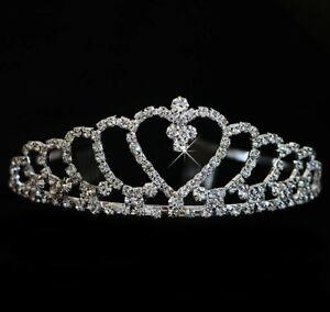 Prinzessin Strass Krone für Damen Diaedem Königin JGA Karneval Theater Hochzeit