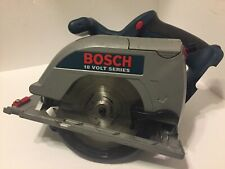 "BOSCH 1662 18V VOLT 6 1/2"" CORDLESS CIRCULAR SAW Tool Only Works Good"