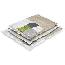 Vaccum Seal Extra Large/ Jumbo Reuseable Bedding / Clothes Storage Bags, 3 Pack