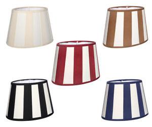 Lampenschirm gestreift Table Lamp Shade Stripe Pattern Socket E27 Stripes New