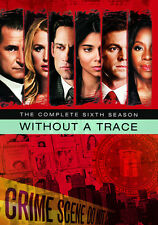 Without a Trace: The Complete Sixth Season [5 Discs] (2013, DVD NEUF) DVD-R