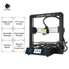 "Anycubic i3 Mega-S 3D Printer 3.5"" LCD Touch Screen & Extruder 210x210x205mm US"