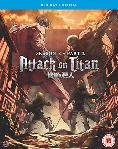 Attack on Titan: Season Three Part Two Blu-ray