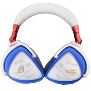 Original ASUS ROG Delta Gundam Edition Headset ESS Quad-DAC RGB Gaming Headphone