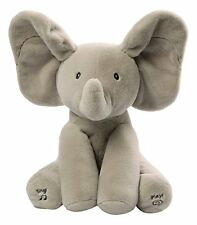 Gund Baby Animated Flappy The Elephant Plush Toy Quality Plays SIngs Adorable
