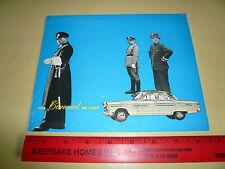 English Ford Consul De Luxe Sales Brochure - Vintage -