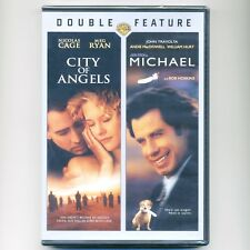 2 movies City of Angels PG-13 & Michael PG romantic comedy new DVD Cage Meg Ryan