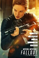 Mission: Impossible - Fallout Movie Poster (24x36) - Rebecca Ferguson, Faust v10