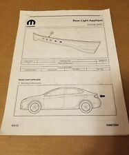 Mopar Tail Lights for Dodge Dart for sale | eBay on