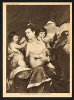 1910s Antique Vintage Lady Cockburn Sir Joshua Reynolds Gravure Art Print