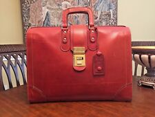 ARROW Montreal  Belting Leather  Briefcase / Doctor / Lawyer Bag - Canadian Made