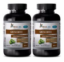 Green Coffee Bean Extract w/GCA 800 - Slimming Pills - Fat Burner - 2B