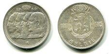 100 Francs Belgien 1948 Silber